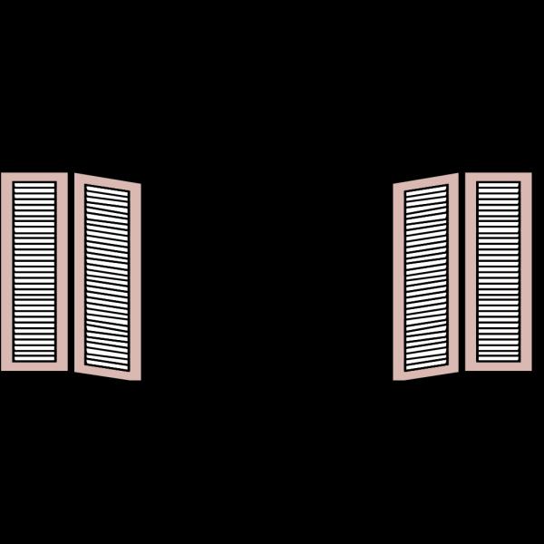 Window Shutters PNG Clip art