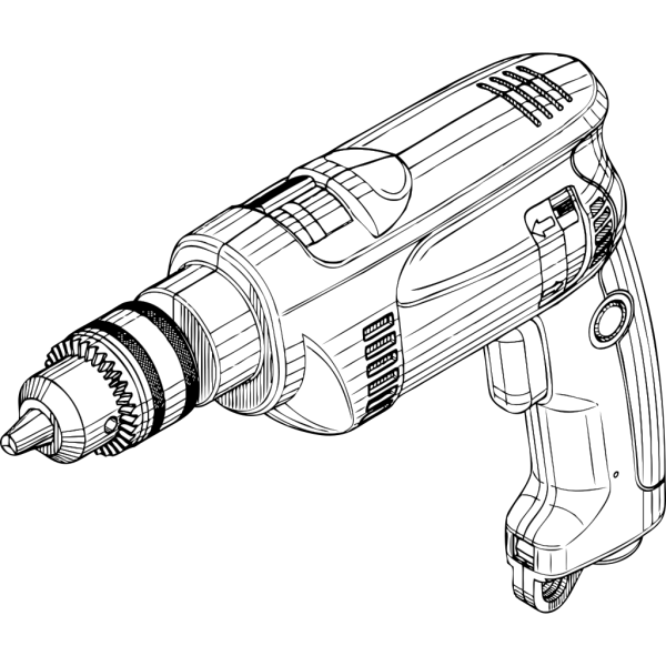 Electric Drill PNG Clip art