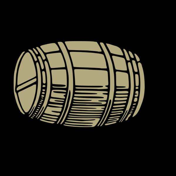 Large Barrel PNG Clip art