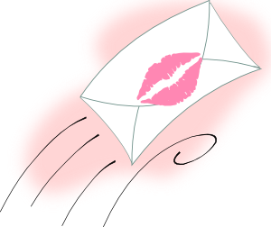 Sealed With A Kiss PNG Clip art