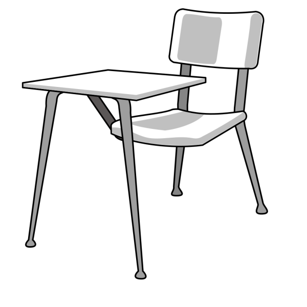 Furniture School Desk PNG Clip art