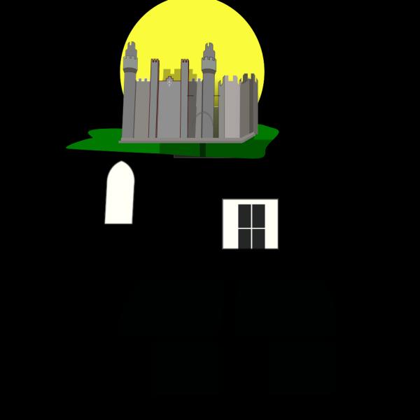 Castle 1 PNG Clip art