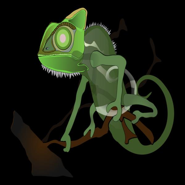 Chameleon 2 PNG Clip art