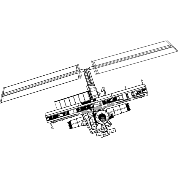 International Space Station PNG Clip art