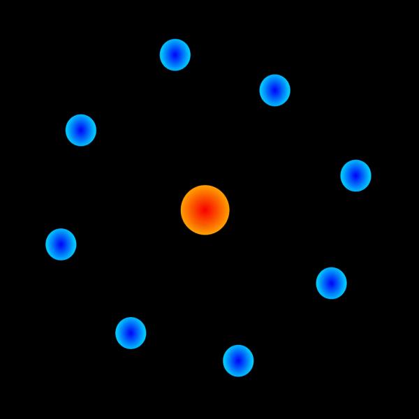 Atom Symbol PNG Clip art