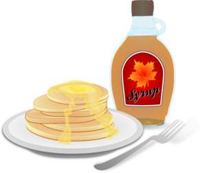 Pancakes And Syrup PNG images