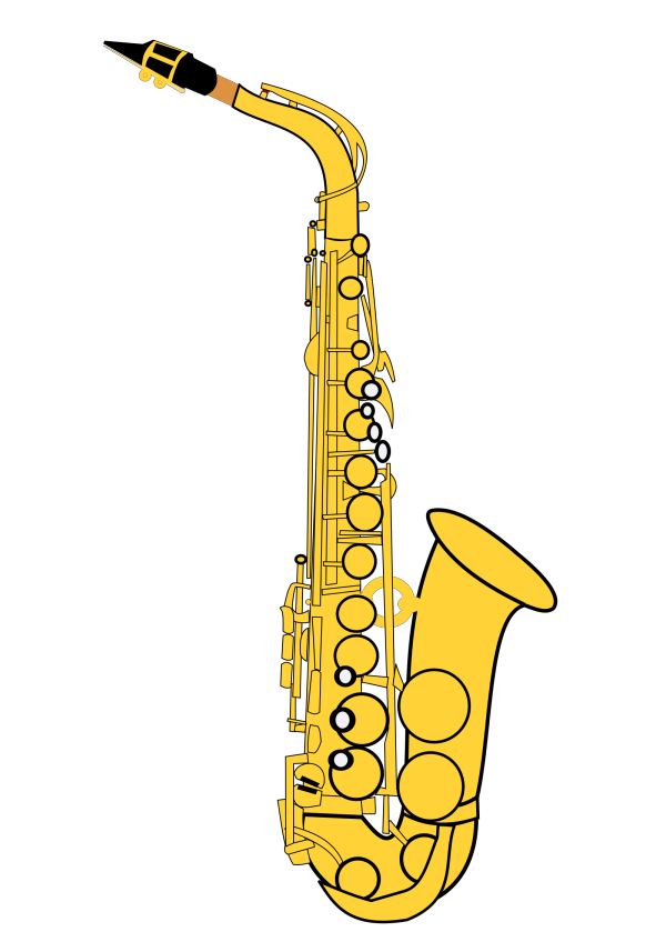 Saxophone PNG icons