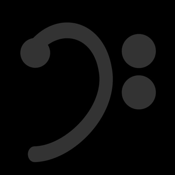 Bass Clef PNG Clip art