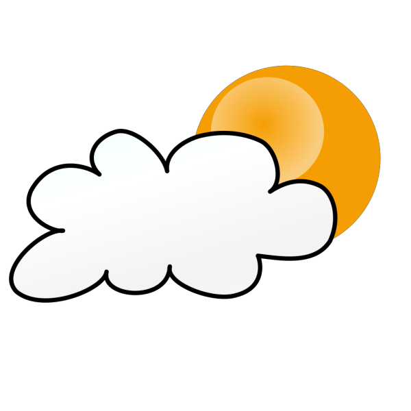 Sunny Partly Cloudy Weather PNG images
