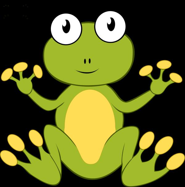 Sitting Frog PNG Clip art