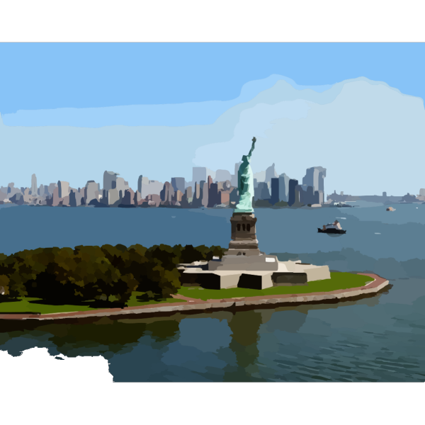 Statue Of Liberty Detail PNG Clip art