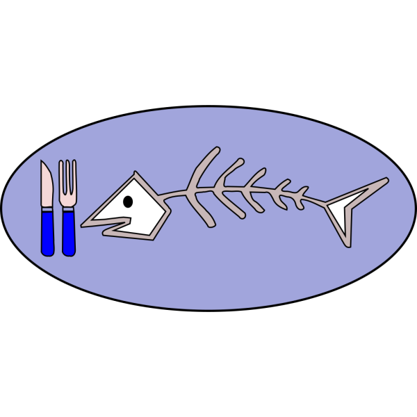 Fish Bones Food PNG Clip art
