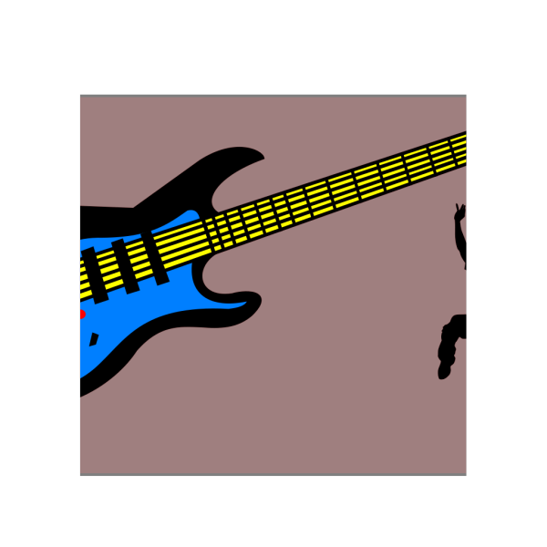 Red Electric Guitar PNG Clip art
