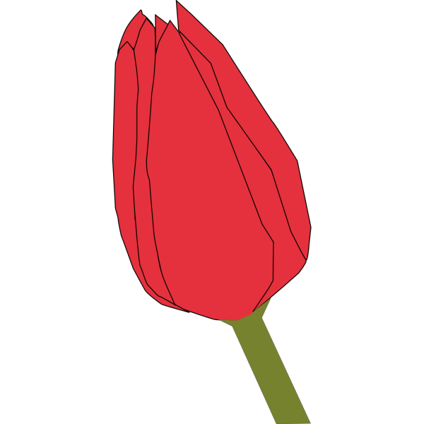 Closed Flower PNG Clip art