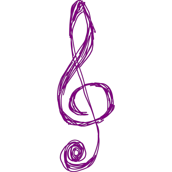 Treble Clef PNG clipart