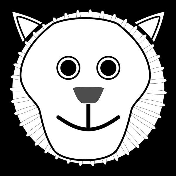Lion Face PNG Clip art