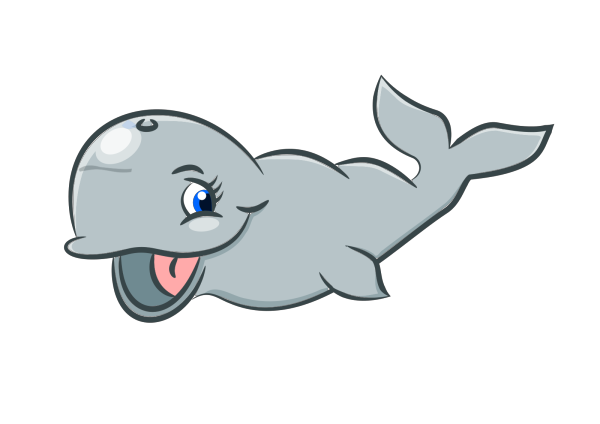 Whale Icon PNG image