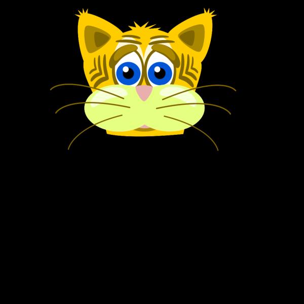Peterm Sad Tiger Cat PNG Clip art