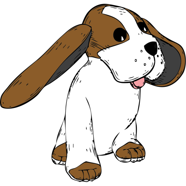 Big Earred Dog PNG images