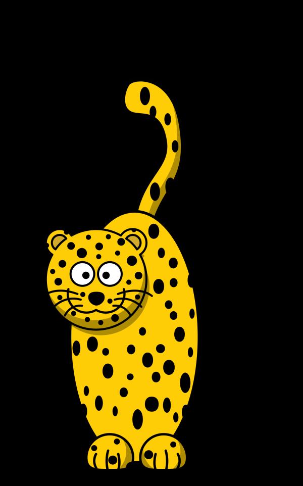 Leopard PNG clipart
