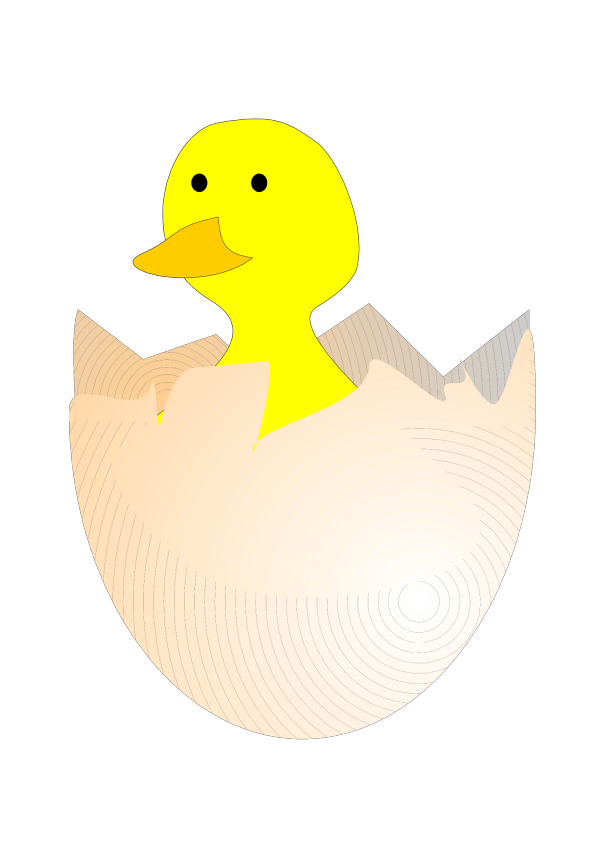 Baby Chick PNG Clip art