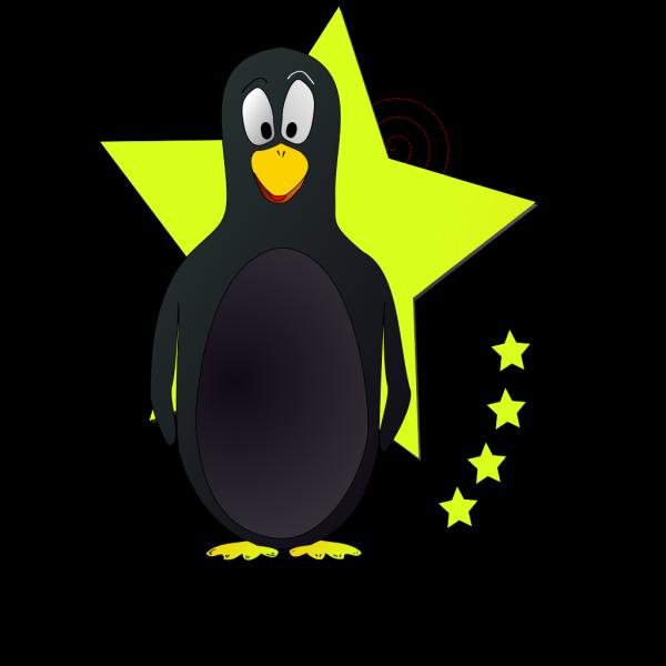 Star Penguin PNG Clip art