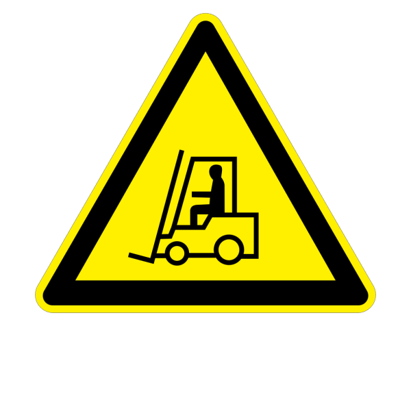 Sign Fork Lift Trucks PNG Clip art