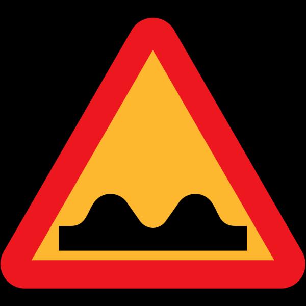 Speed Bump Sign PNG Clip art