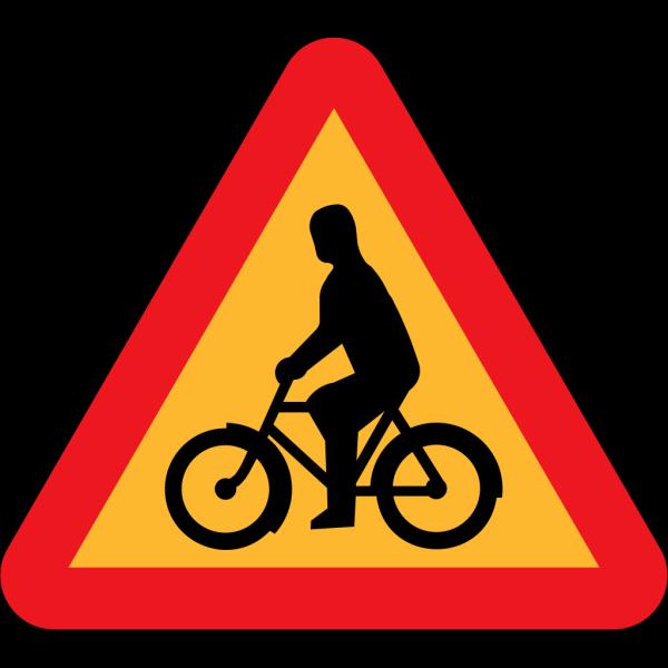 No Bicycles Roadsign PNG Clip art