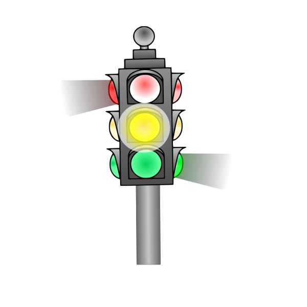 Traffic Lights Ahead Sign PNG Clip art