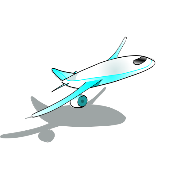 Plane Taking Off PNG Clip art