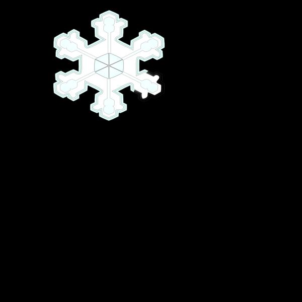 Snowflake 3 PNG Clip art