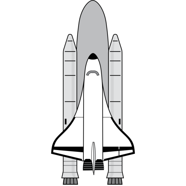 Space Shuttle PNG Clip art