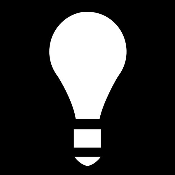 Lightbulb, Off PNG Clip art