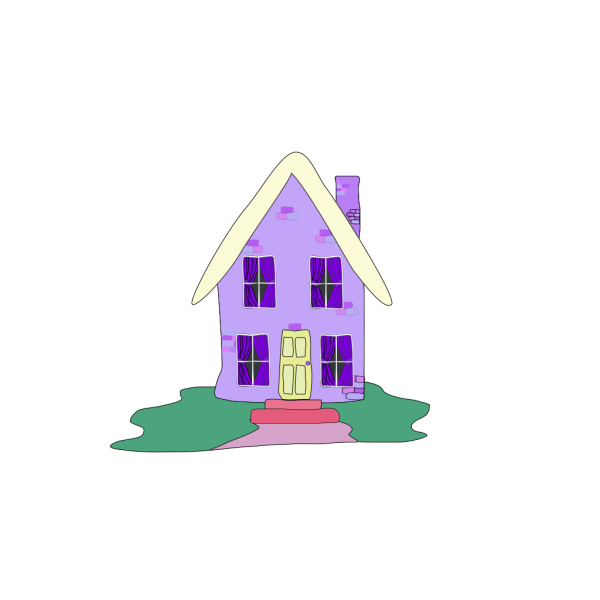Lilac House PNG images
