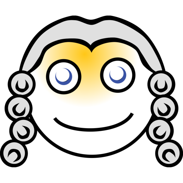 Smiley Magistrate PNG Clip art