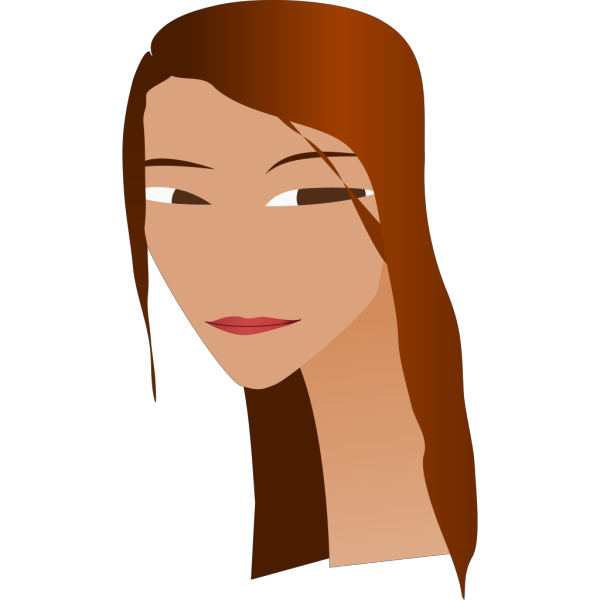 Woman S Face With Long Neck PNG Clip art