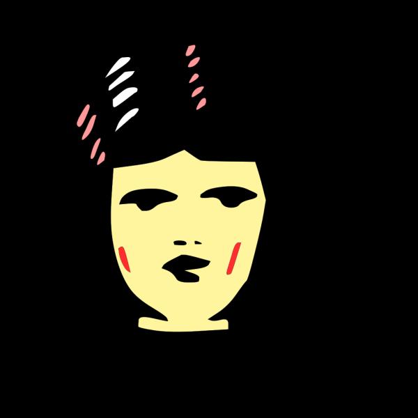 Girl Face PNG Clip art
