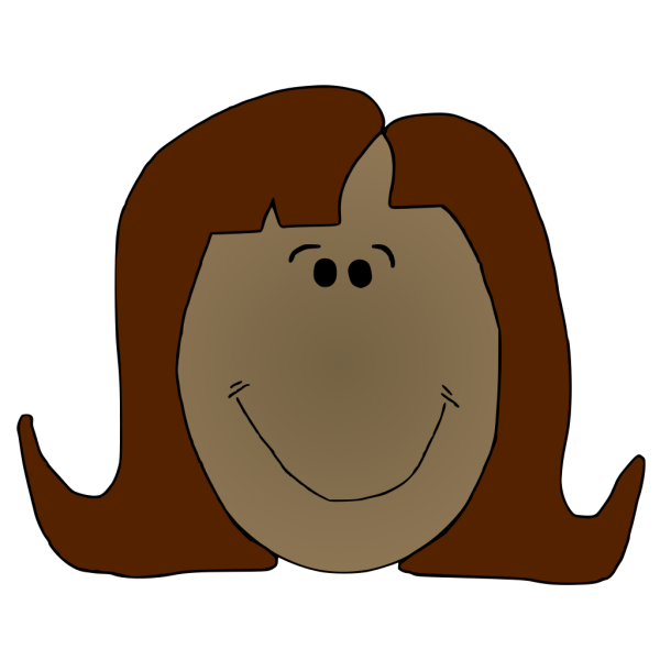 Smiling Lady PNG Clip art