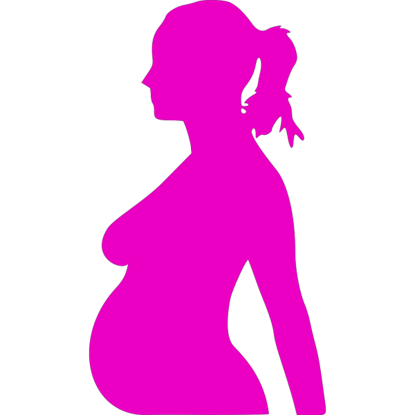 Pregnancy Silhouette 3 PNG images