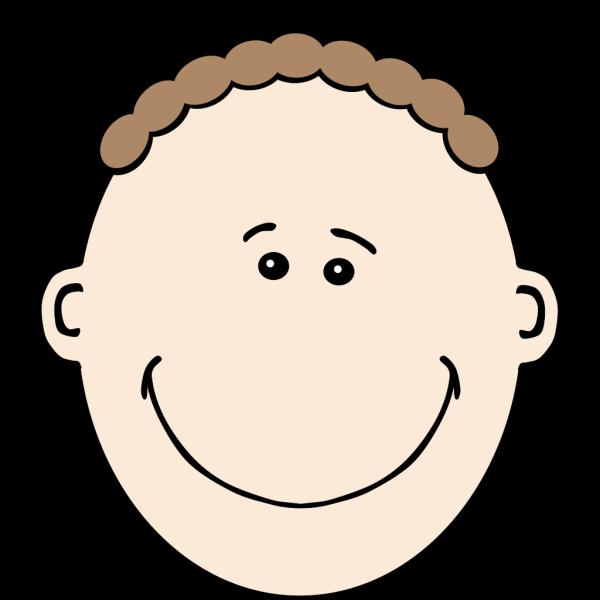 Man Face World Label PNG Clip art