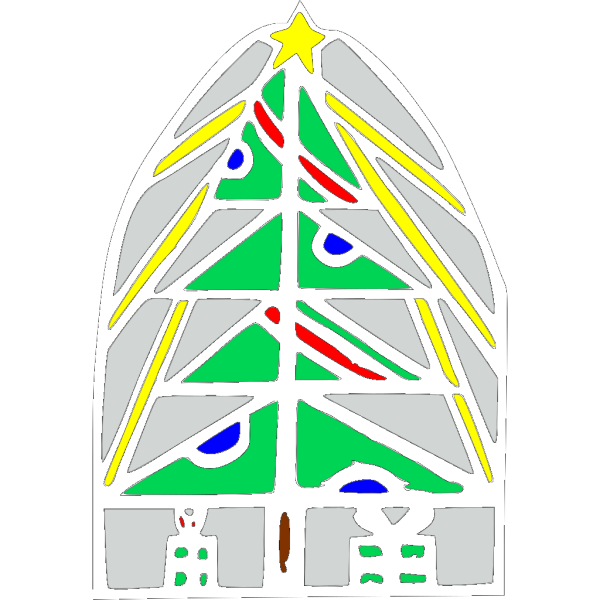 Christmas Tree Icon 2 PNG Clip art