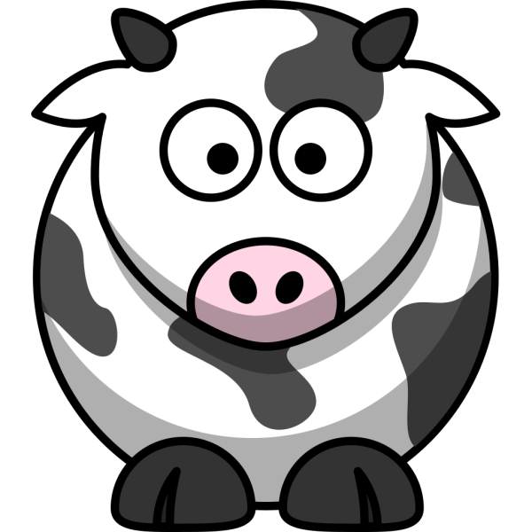 Free Cartoon Cow Clip Art PNG images