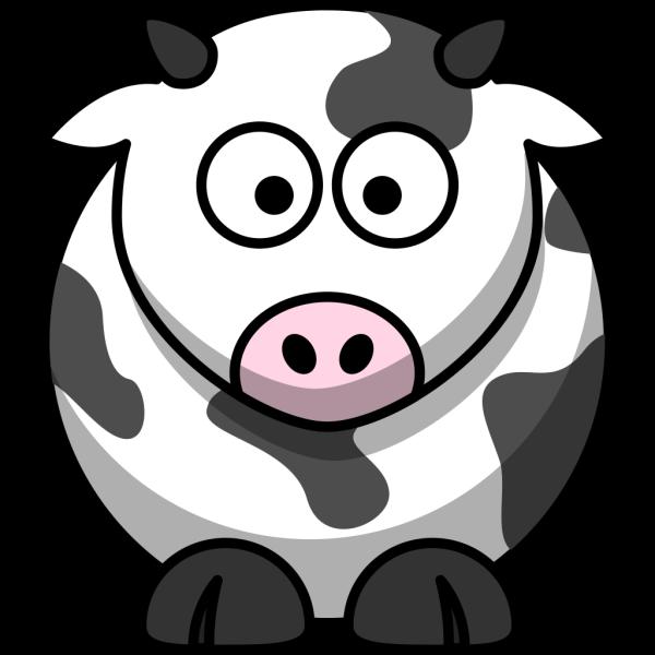 Free Cartoon Cow Clip Art PNG Clip art