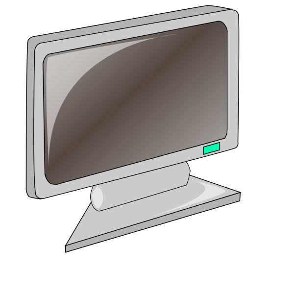 Lcd Flat Panel Monitor PNG Clip art