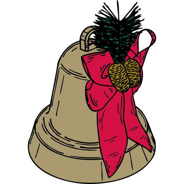 Christmas Bell PNG Clip art