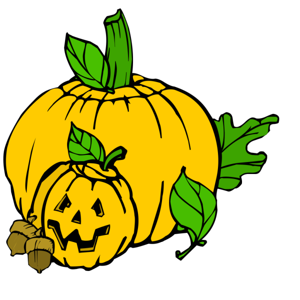 Pumpkins Colour PNG Clip art