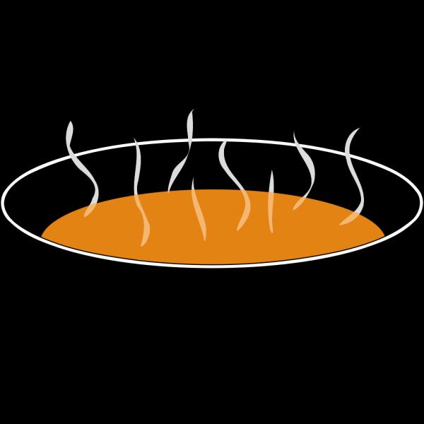Steaming Pumpkin Soup PNG Clip art