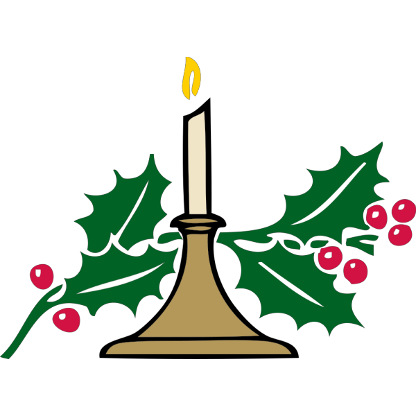 Christmas Candles PNG Clip art