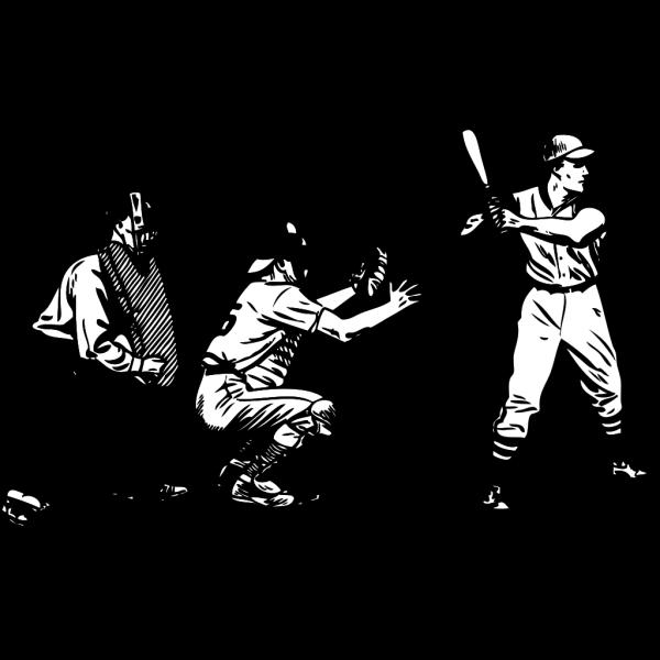 Baseball At Bat PNG Clip art
